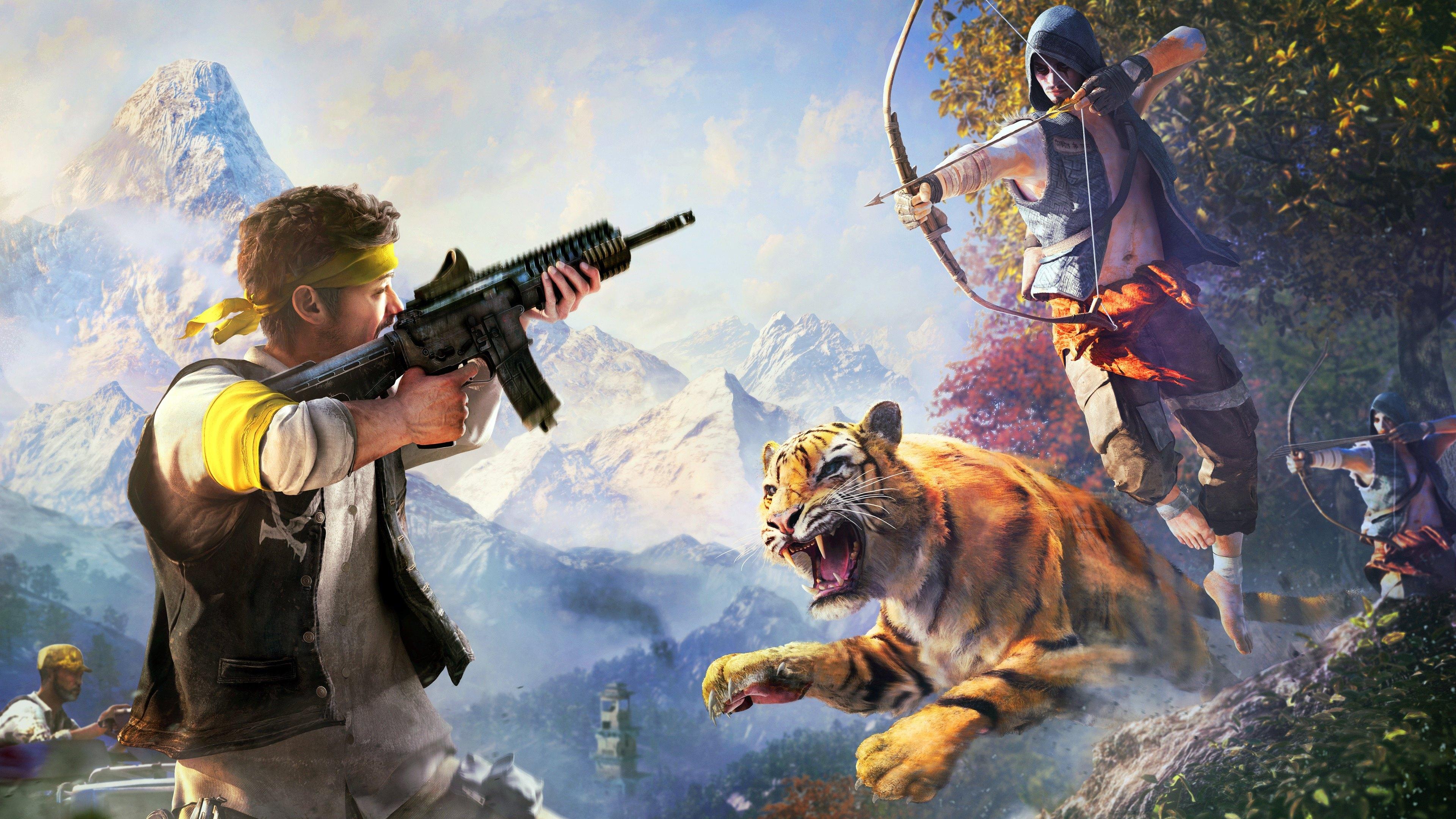 Video Game Screenshot Far Cry 4 HD Wallpapers 4K Wallpapers 3840x2160