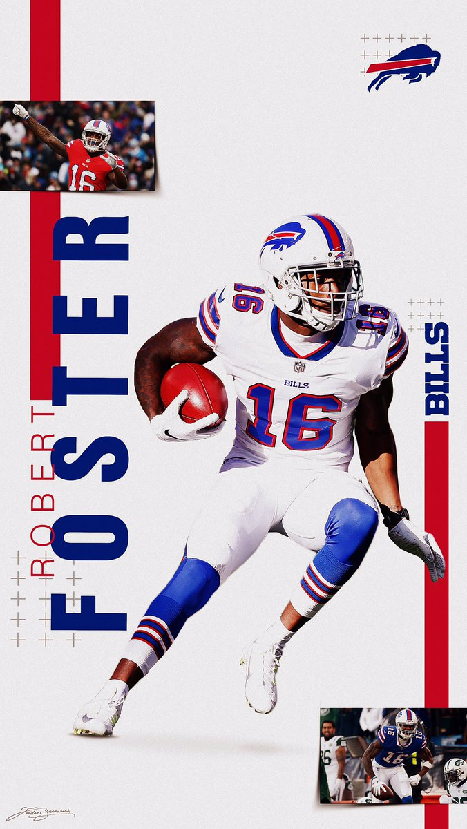Jordan Santalucia on Twitter Buffalo Bills Robert Foster 676x1200