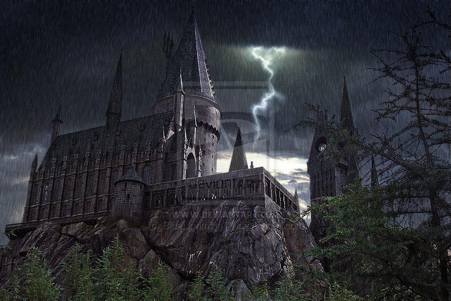 Hogwarts Castle Wallpaper Harry potter hogwarts castle 900x600