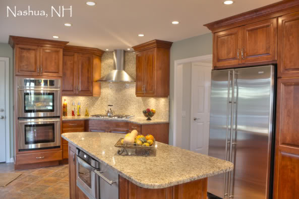 Nashua wallpaper and flooring wallpapersafari for Corner cooktop designs kitchen