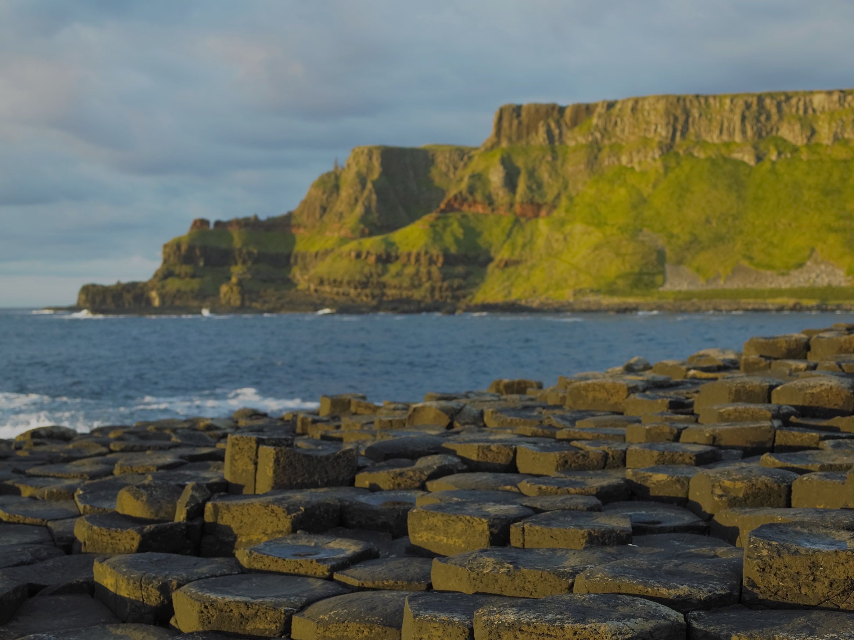 Ireland Landscape Wallpaper Giants Causeway County Antrim 2800x2100