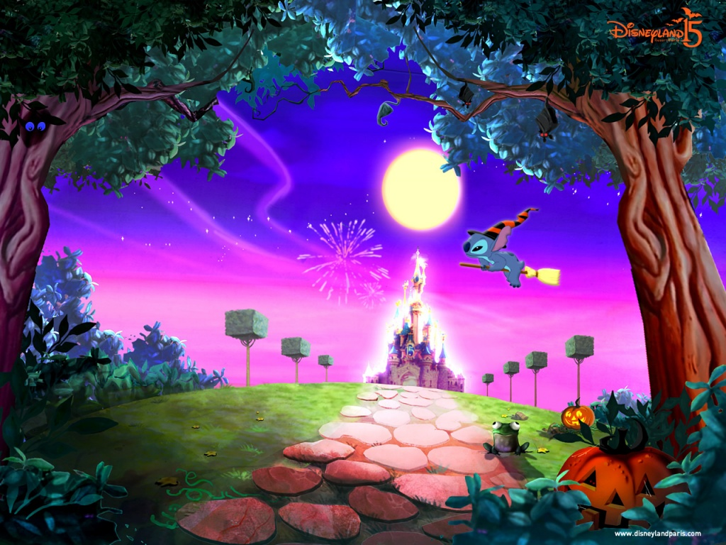 Desktop Wallpaper Disney Halloween Wallpaper Page 2 1024x768