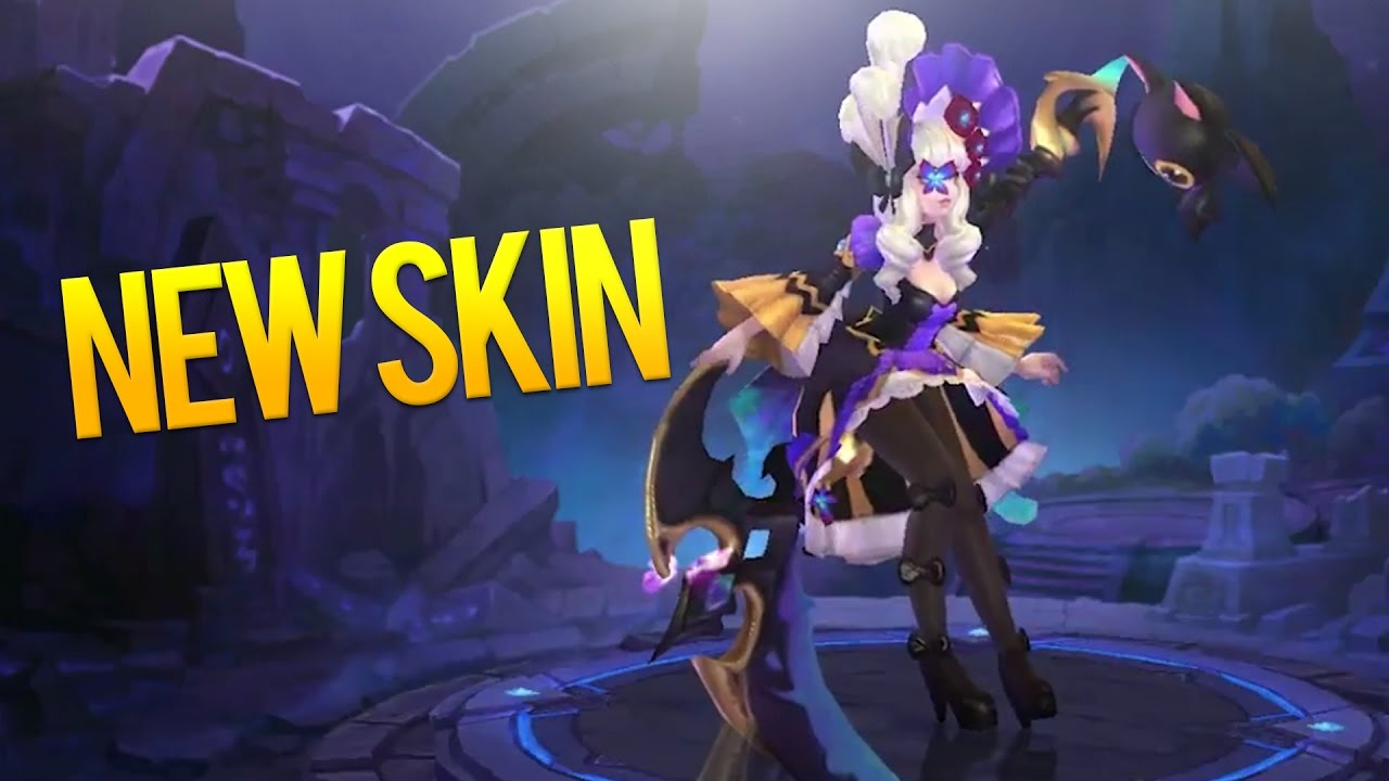 Mobile Legends New Ruby Skin Gameplay Hidden Orchid Butterfly 1280x720