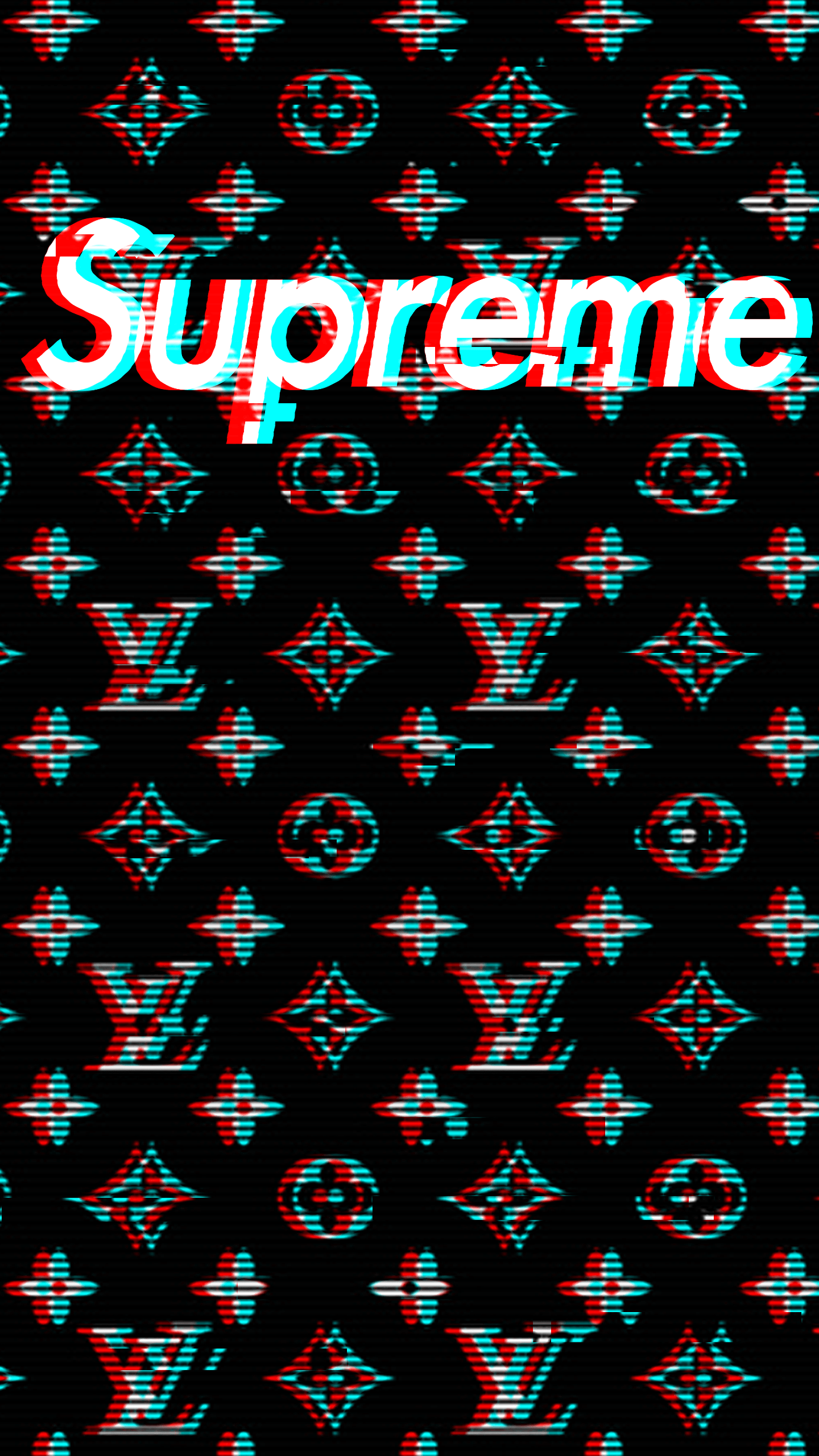 Free Download Black Louis Vuitton Supreme Wallpapers Top