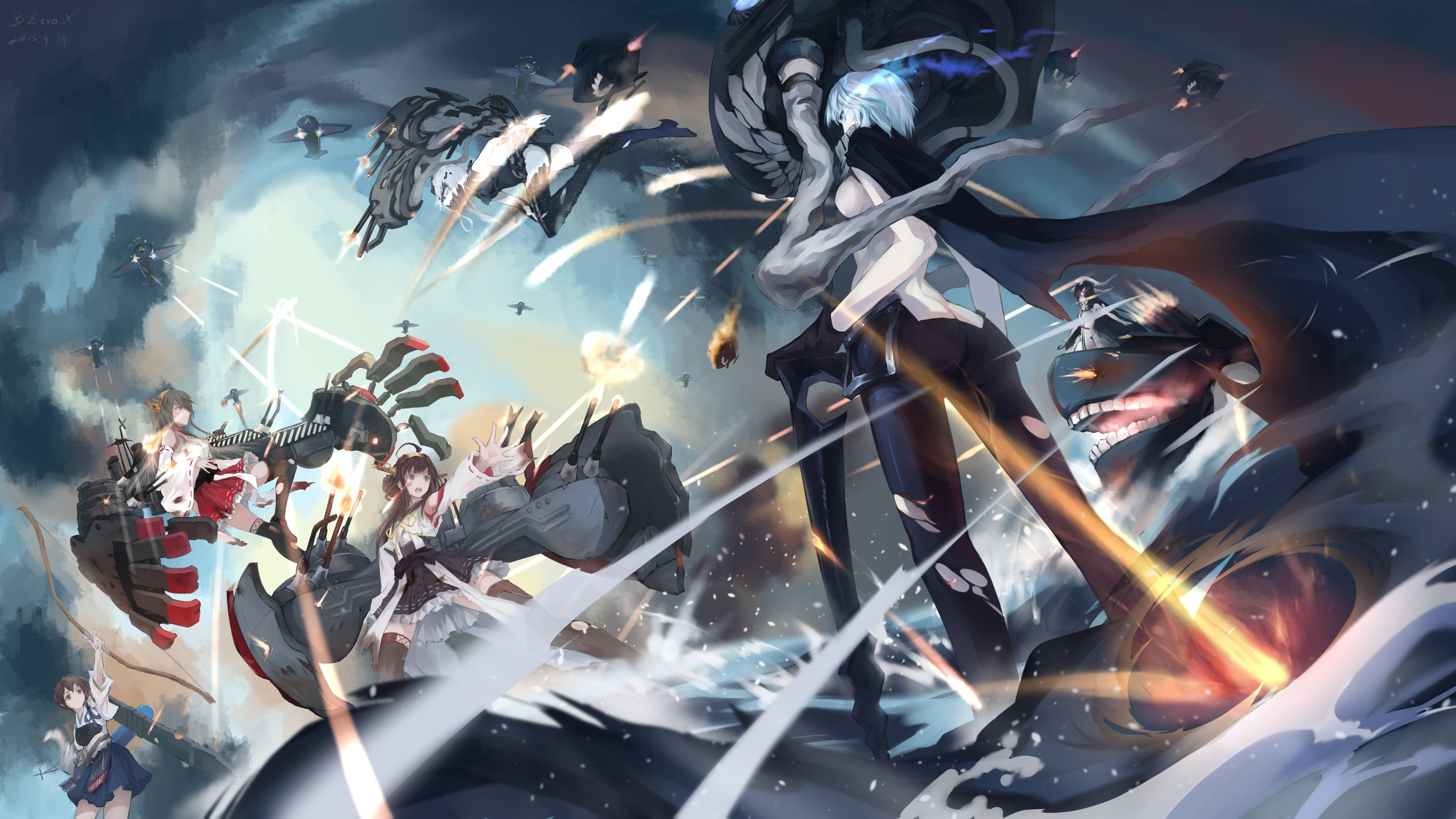 Kantai Collection HD Wallpaper Background Image 2880x1620 ID 2880x1620