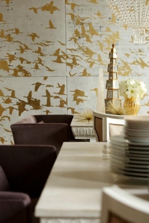 Ideas Wall Decor Design with Bird Wallpaper   nijihomedesign 497x745