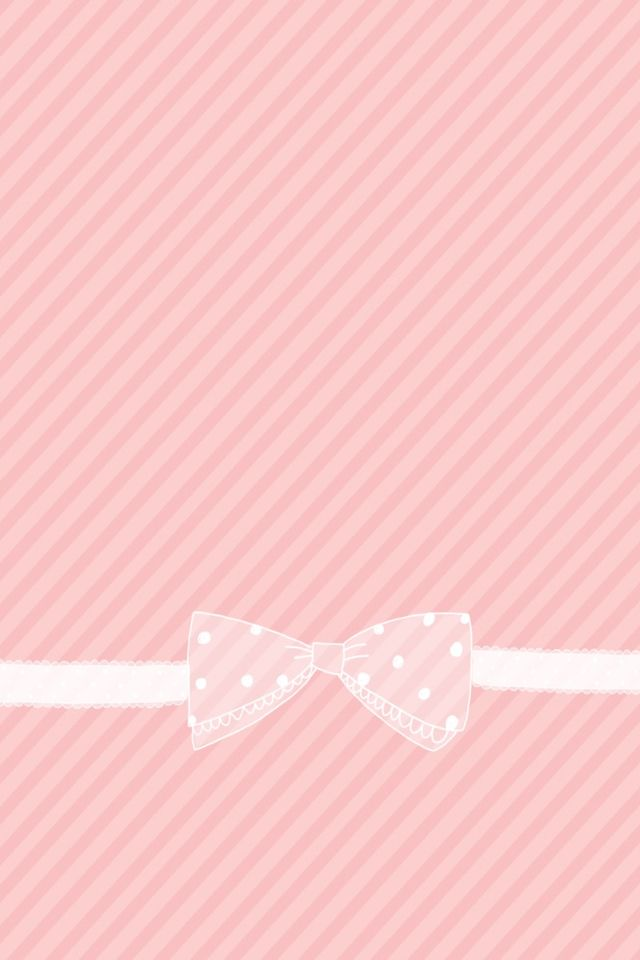 Cute pink wallpaper Girly wallpapers Pinterest 640x960