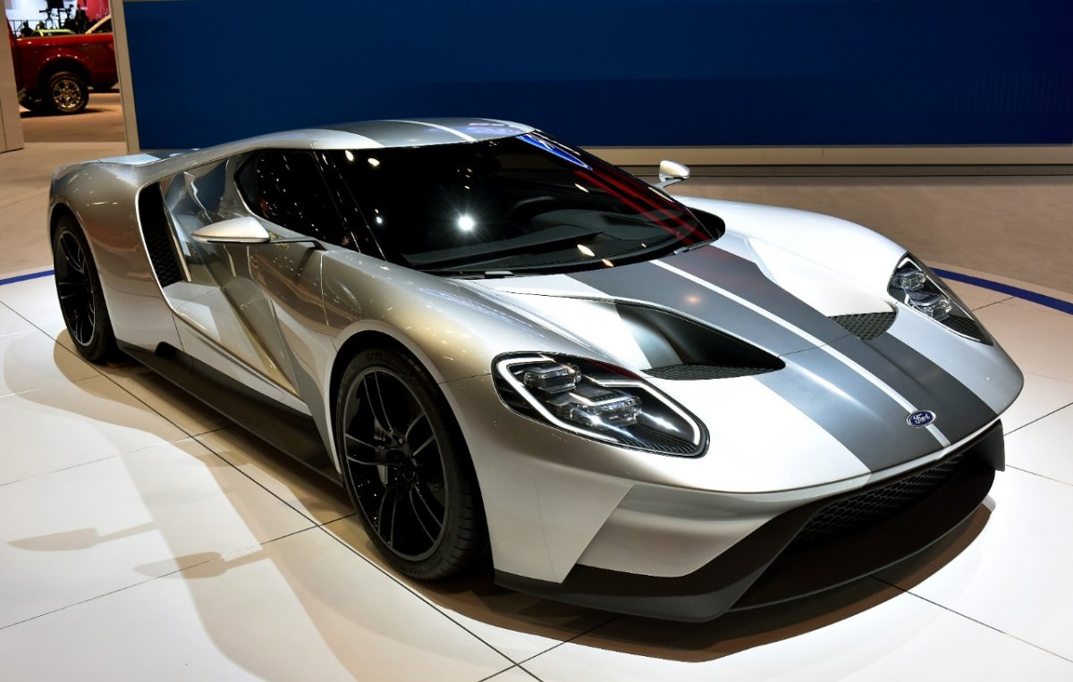 Demo New FORD GT 2016 Photos Wallpapers 1200x763
