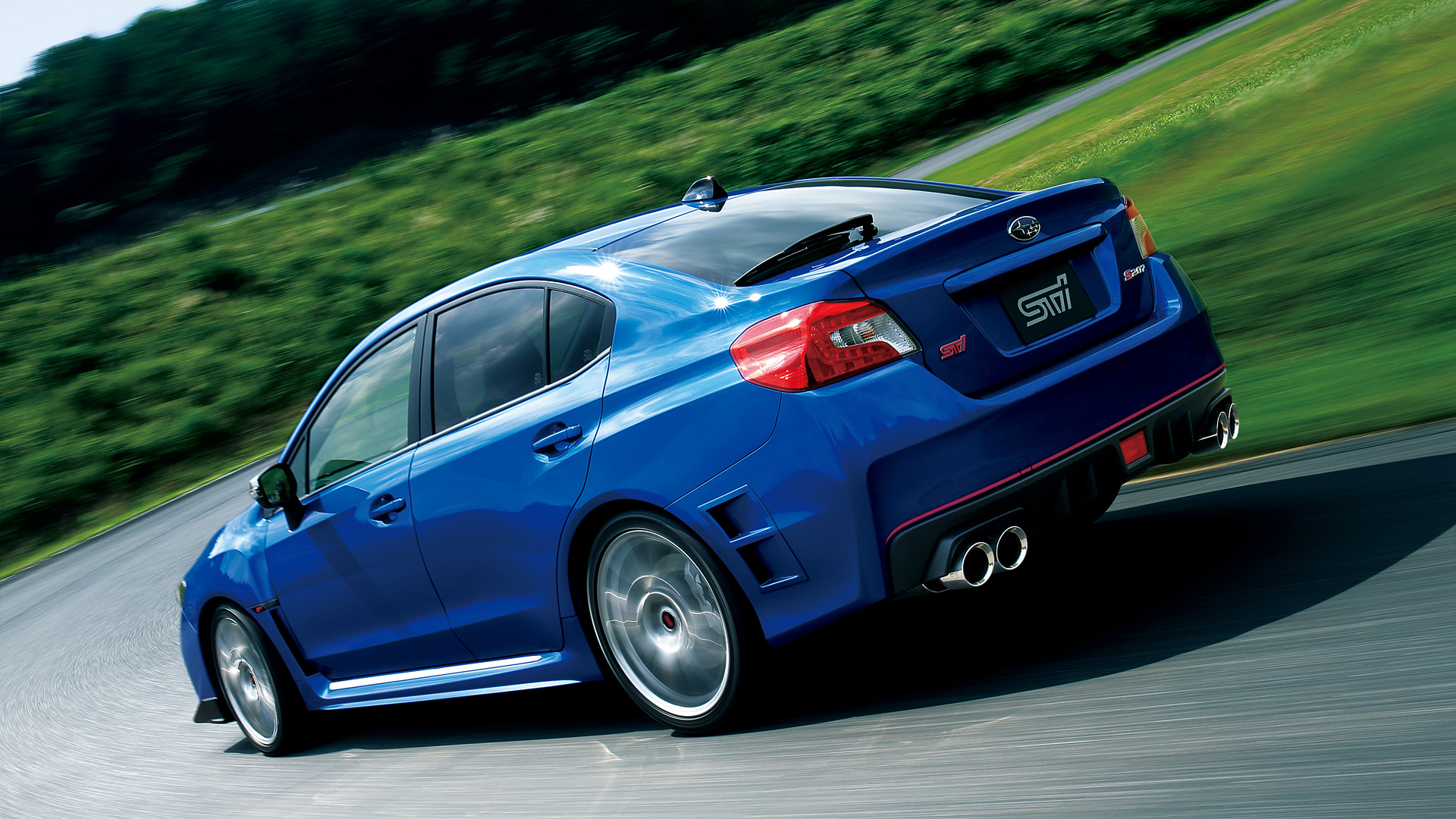 2016 Subaru WRX STI S207 Wallpapers 1920x1080