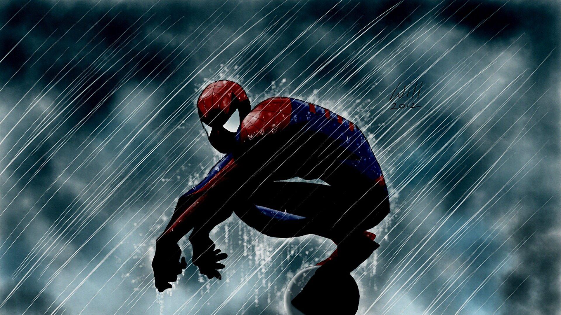Download Spiderman Wallpaper For iPhone iPad 1920x1080