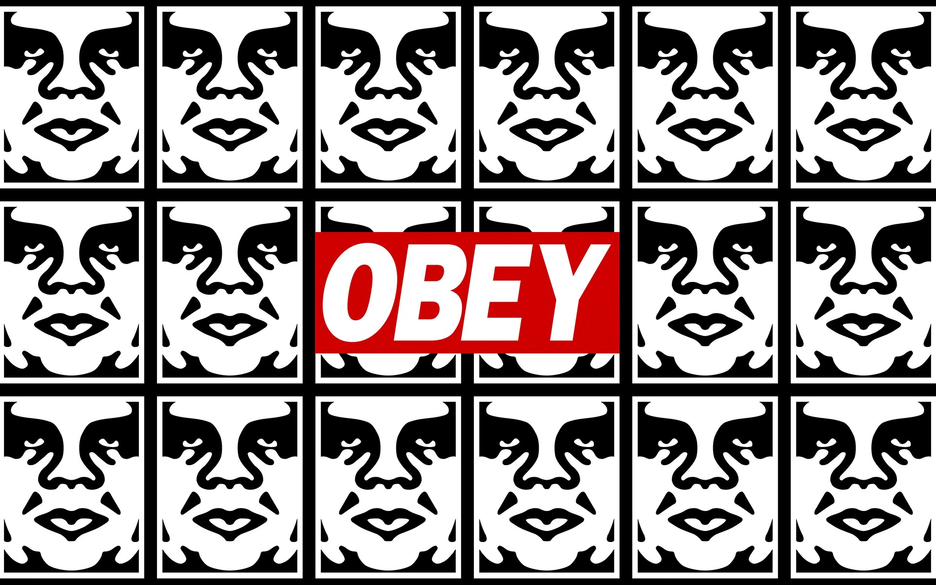 Obey graffiti stencils anarchy humor texts dark sadic wallpaper 1920x1200