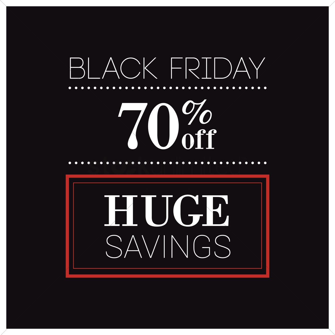 Black friday sale wallpaper Vector Image   1583531 StockUnlimited 1300x1300