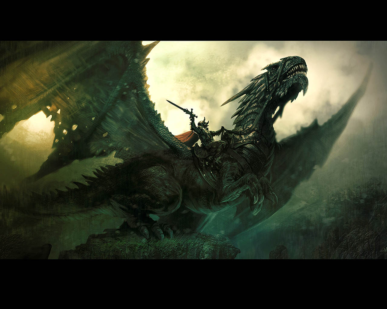 Dark fantasy wallpaper desktop 1280x1024