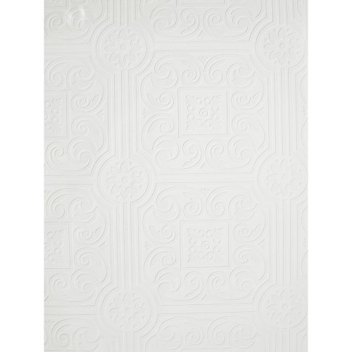 Imperial VP131600 Architectural Tin Ceiling Paintable Wallpaper 500x500