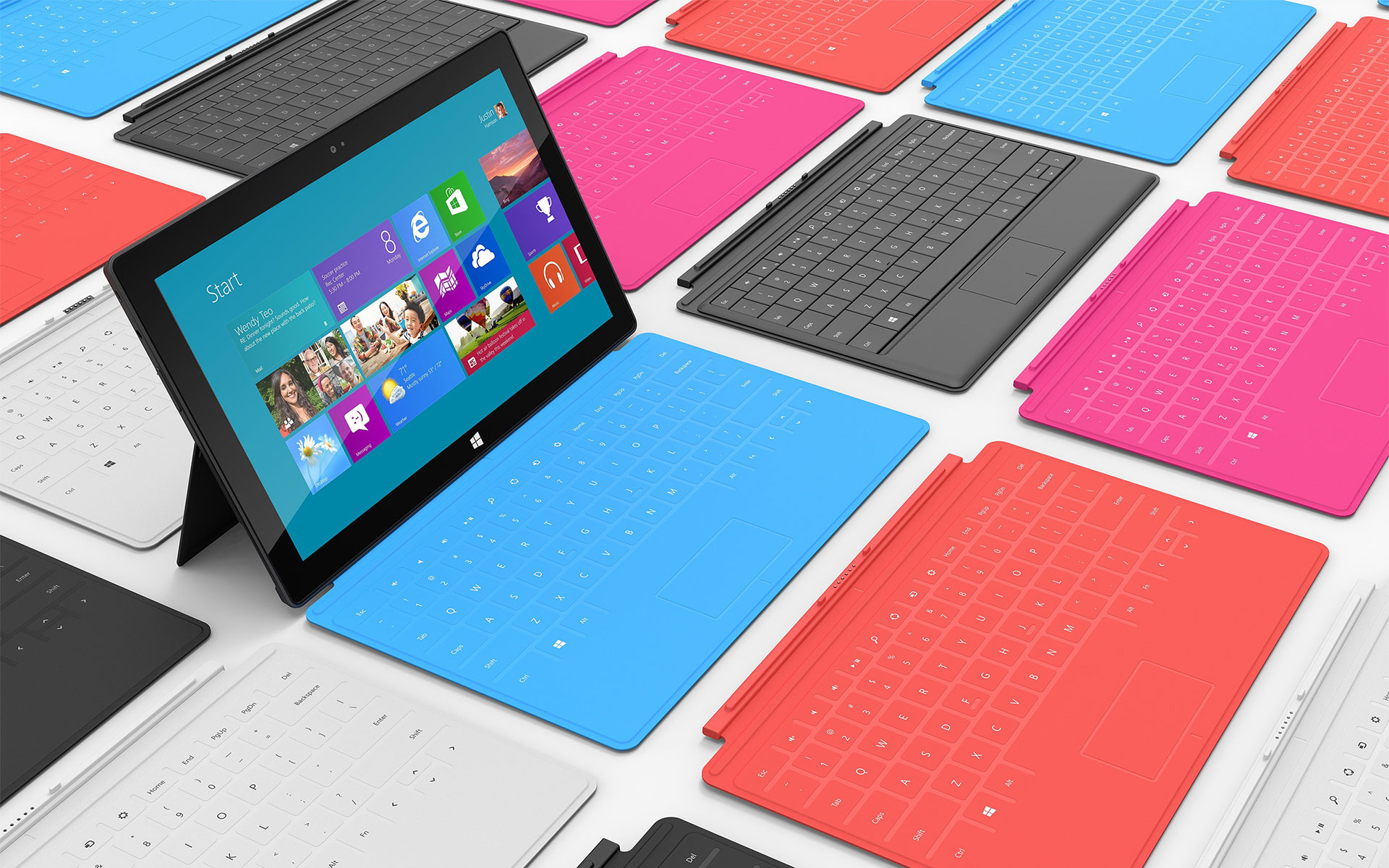 Microsoft Surface Tablet | Mystery Wallpaper