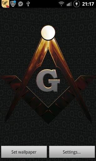 Freemason 3D Symbol is a Live Wallpaper that constitutes a true 307x512