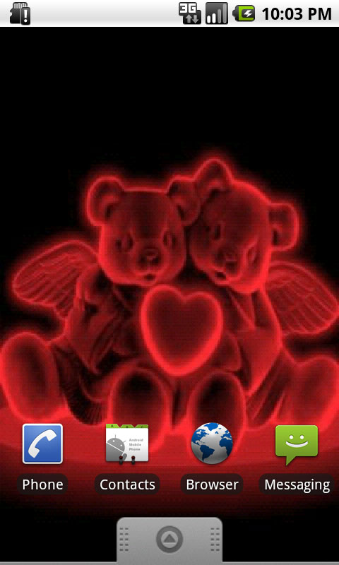 Free Download Download Neon Bears In Love Live Wallpapers For Your Android 480x800 For Your Desktop Mobile Tablet Explore 47 Does Live Wallpaper Use Data Live Moving Wallpaper For