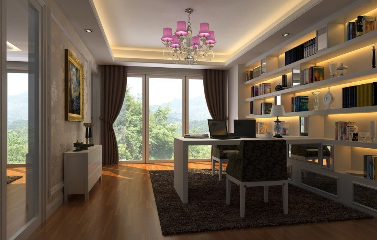 Chinese style in interior design 3D house 3D house pictures 1201x767