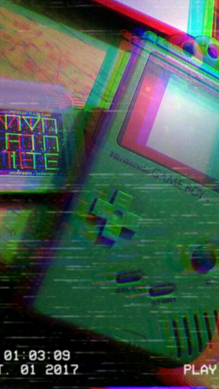 MajorPinz V H S in 2019 Vaporwave Iphone wallpaper Glitch art 736x1308