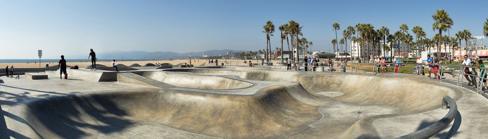 Venice Skate Park Images WallpaperFusion by Binary Fortress 1680x480