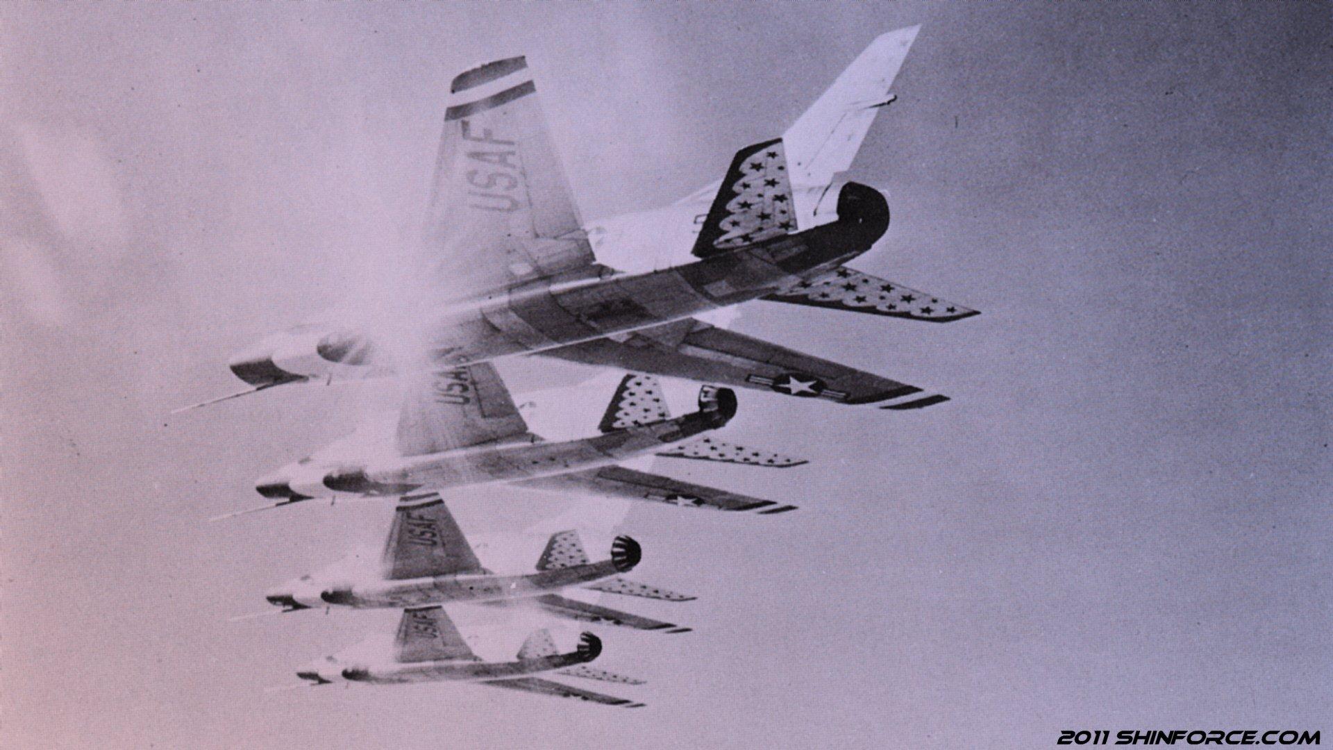 US Air Force Thunderbirds Wallpaper Sega Shin Force Cool 1920x1080