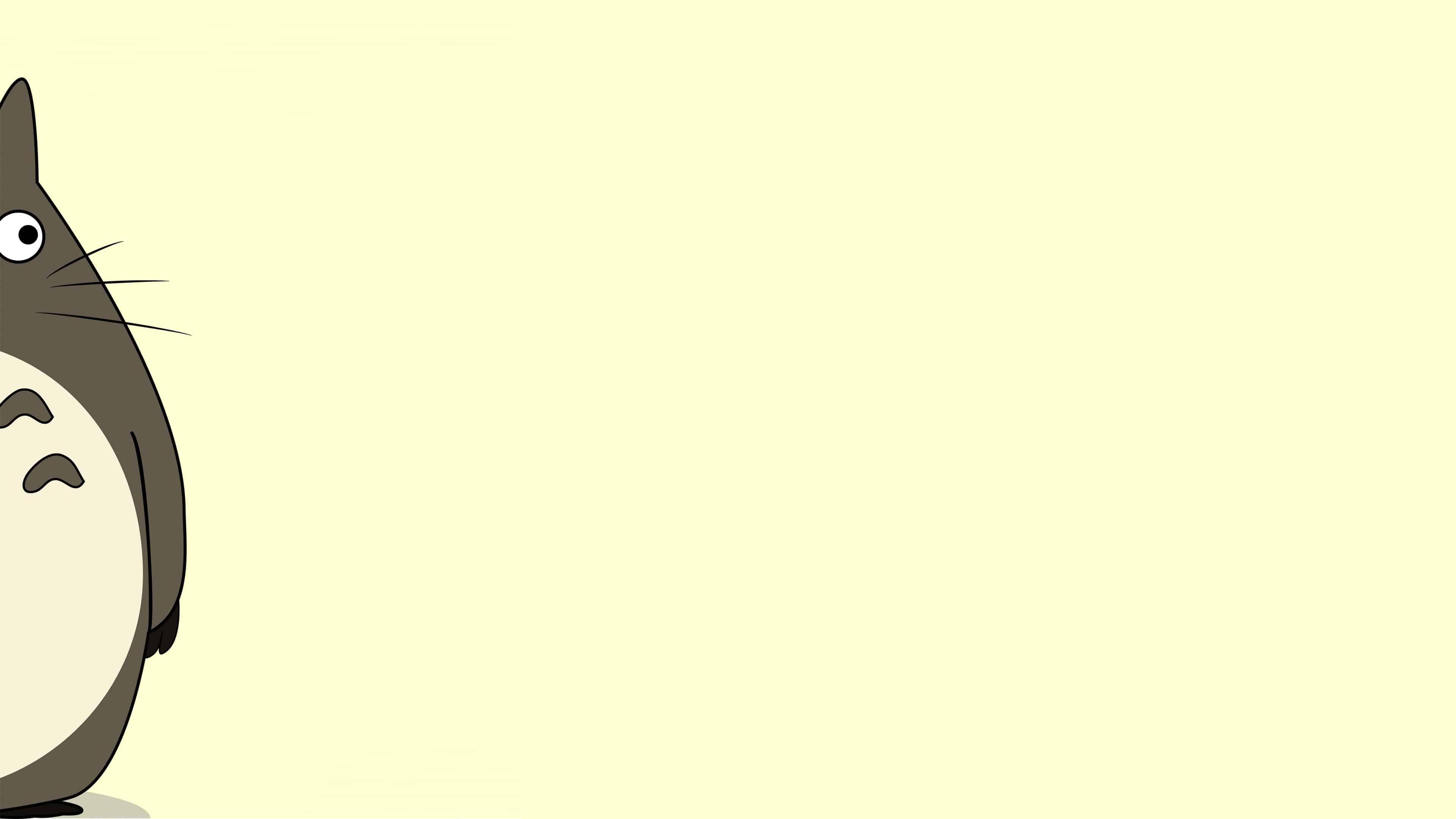 Title My Neighbor Totoro Side UHD 4K Wallpaper Pixelz 3840x2160