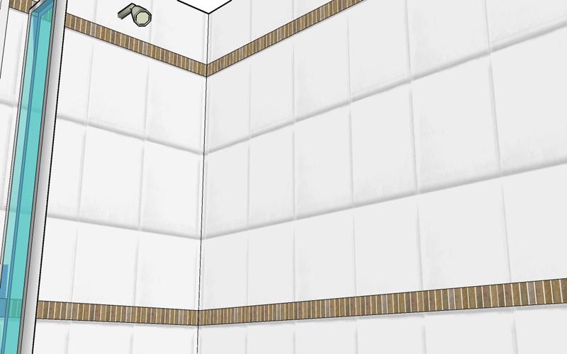 Bathroom 3D Illustrations Bathroom 2 borders 002 800x500