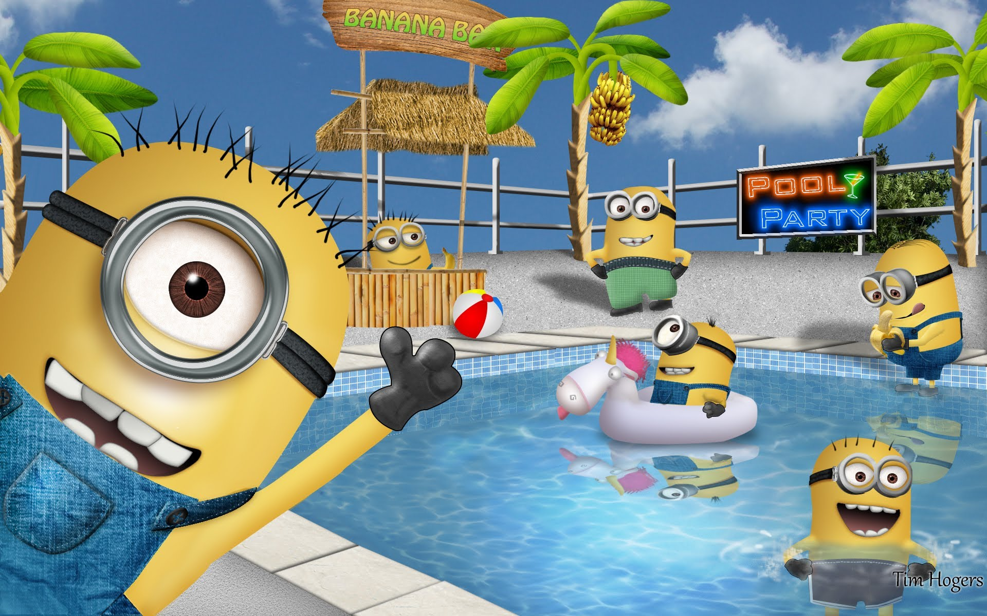 Minions Party Backgrounds For Minions Party Backgrounds Www8backgroundscom