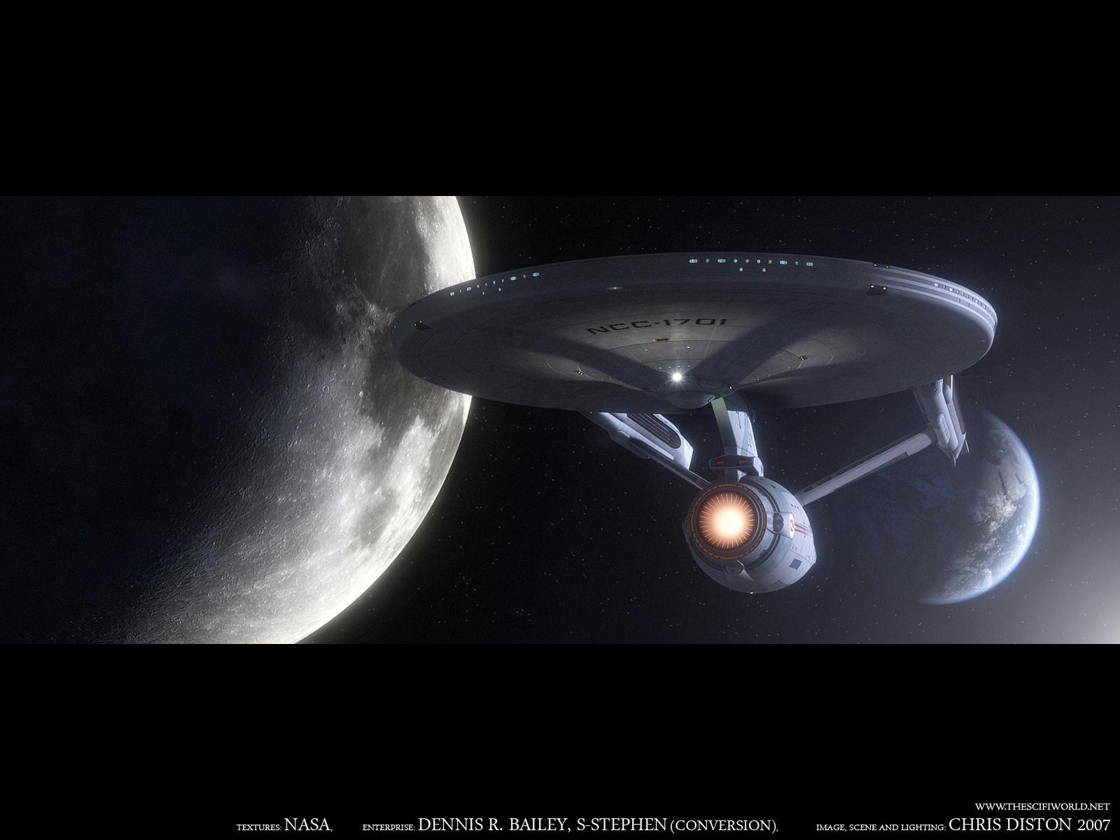 Download Star Trek Original wallpaper Star Trek Starship Enterprise 1600x1200