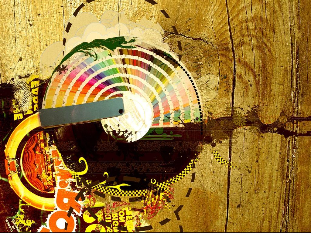 1024x768 Vintage Vinyl wallpaper music and dance wallpapers 1024x768