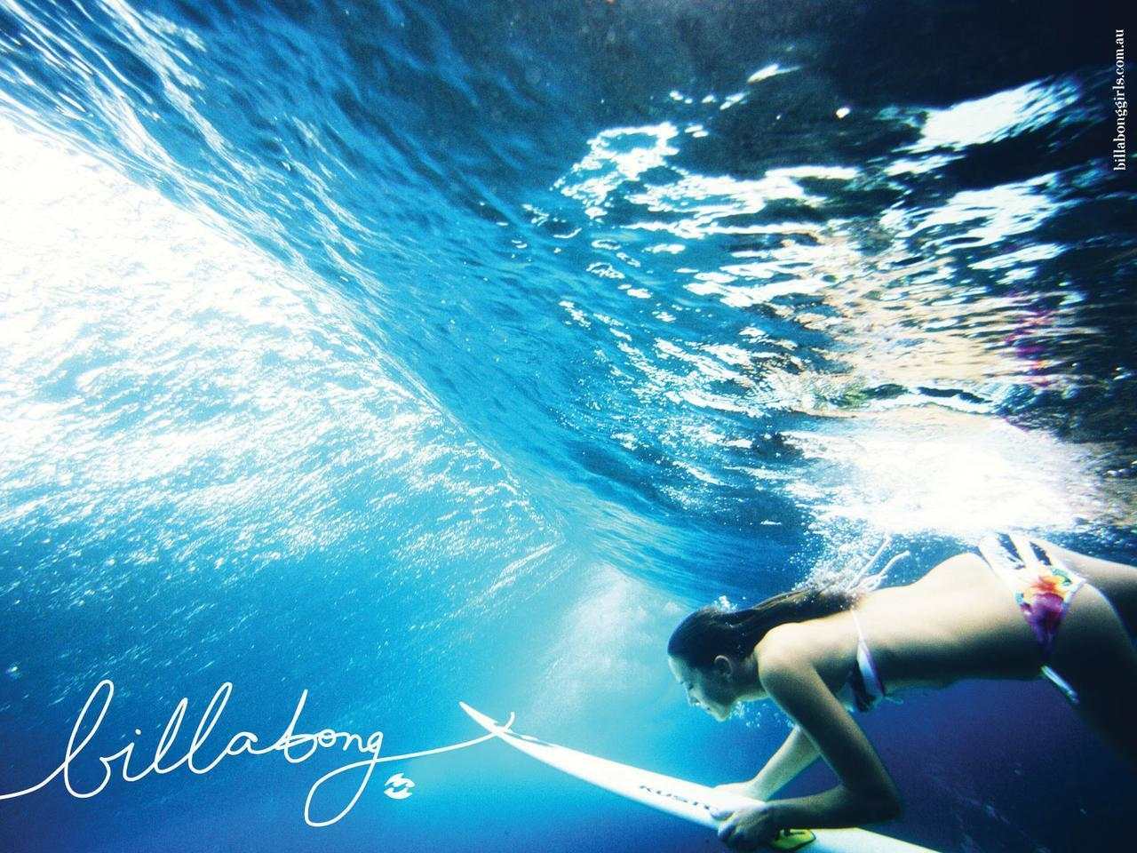 Billabong Girls Surfing 1280x960