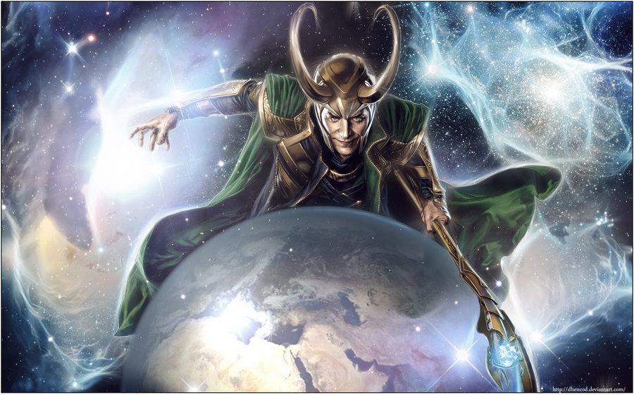 Loki Smite Wallpaper Loki wallpaper by dhencod 900x563