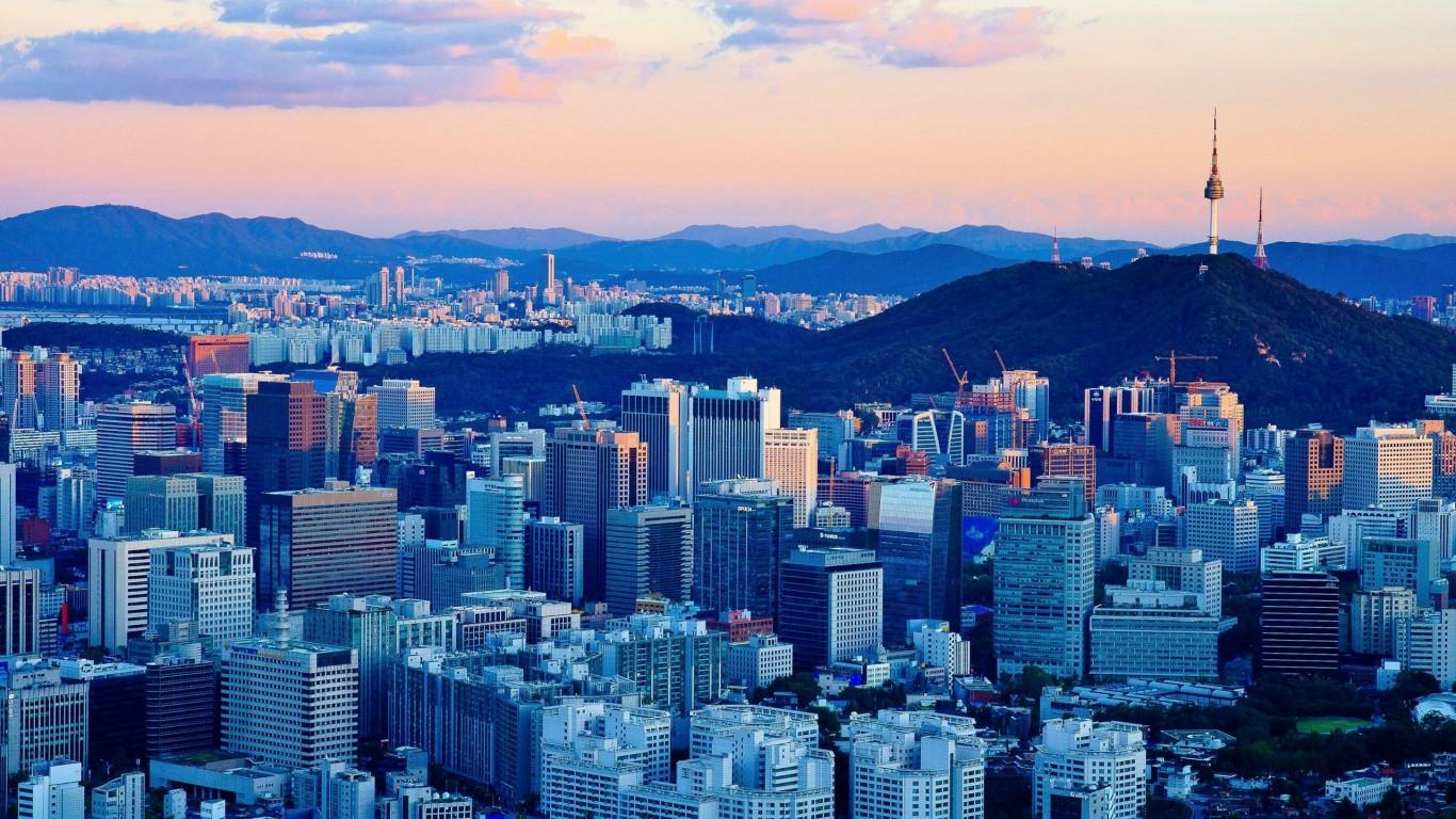Seoul Wallpaper Wallpapersafari
