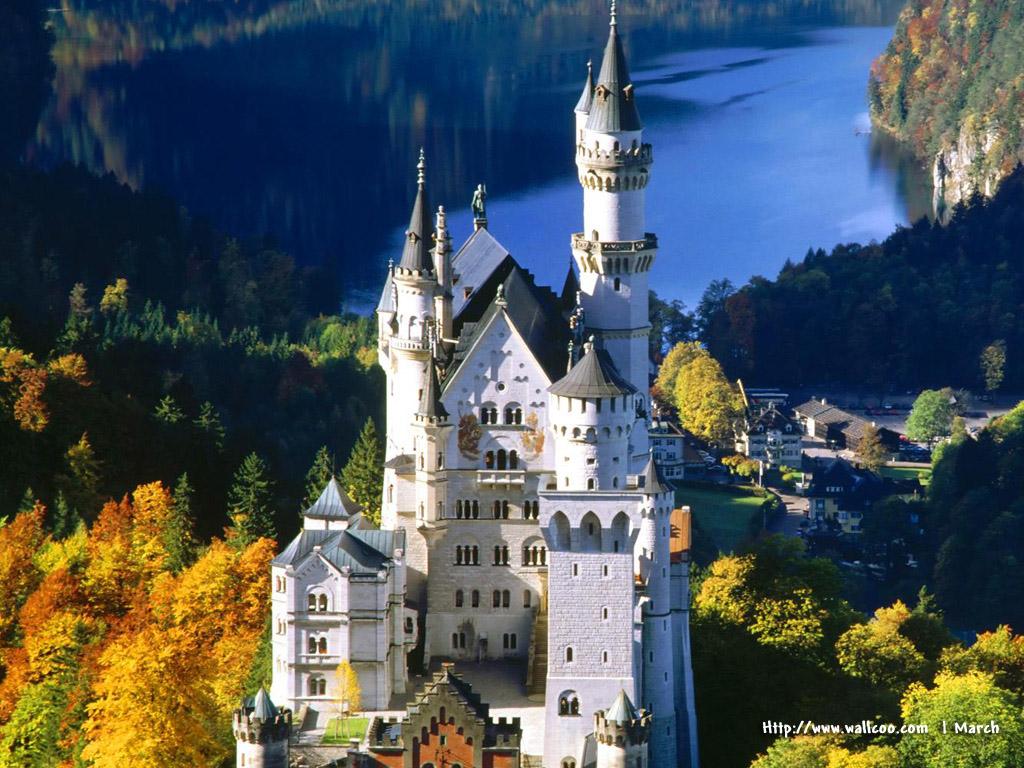 european castles wallpaper wallpapersafari