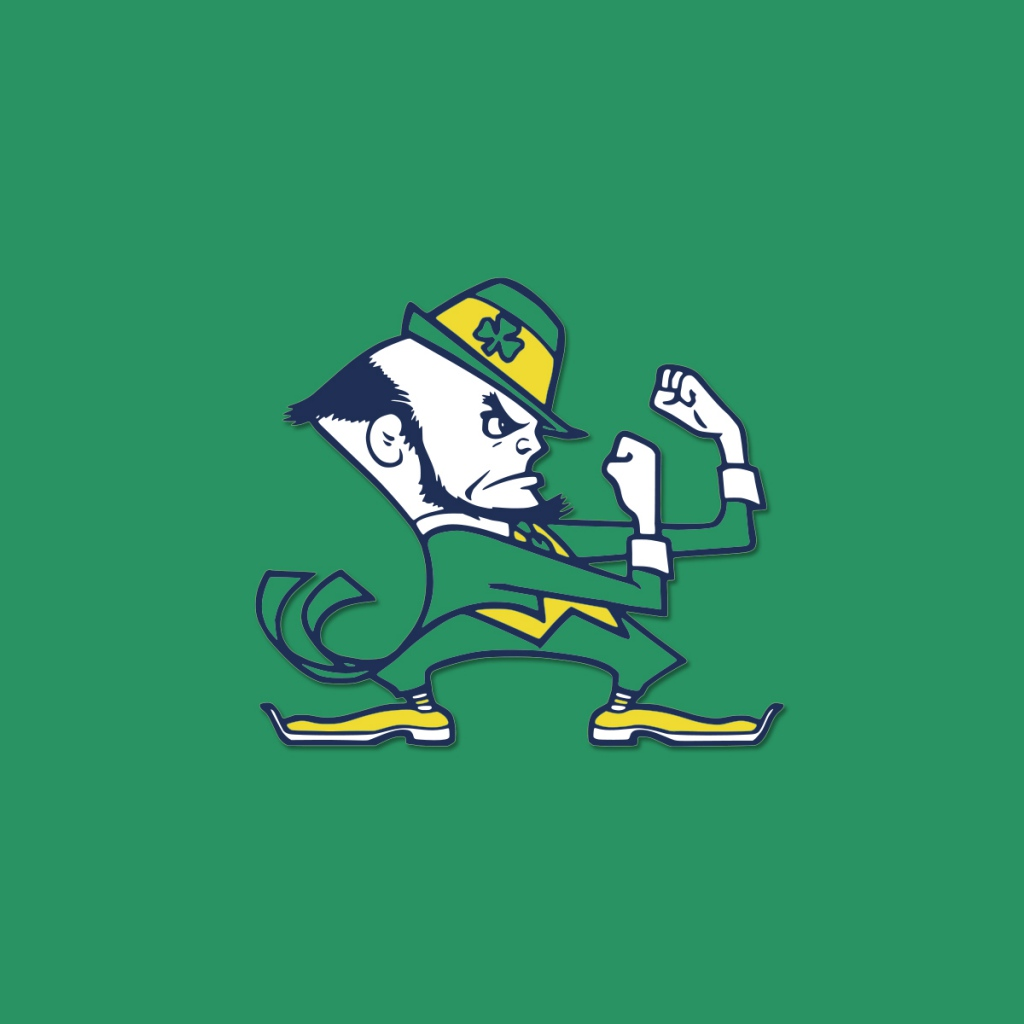 Notre Dame Football Wallpaper: Notre Dame Wallpaper For IPad