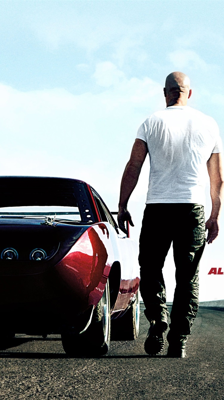 Free Download Vin Diesel In Fast And Furious 6 750x1334 Iphone