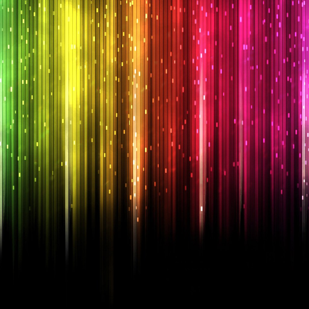 Cool Colorful Wallpaper Designs 1024x1024 Pixel Popular HD