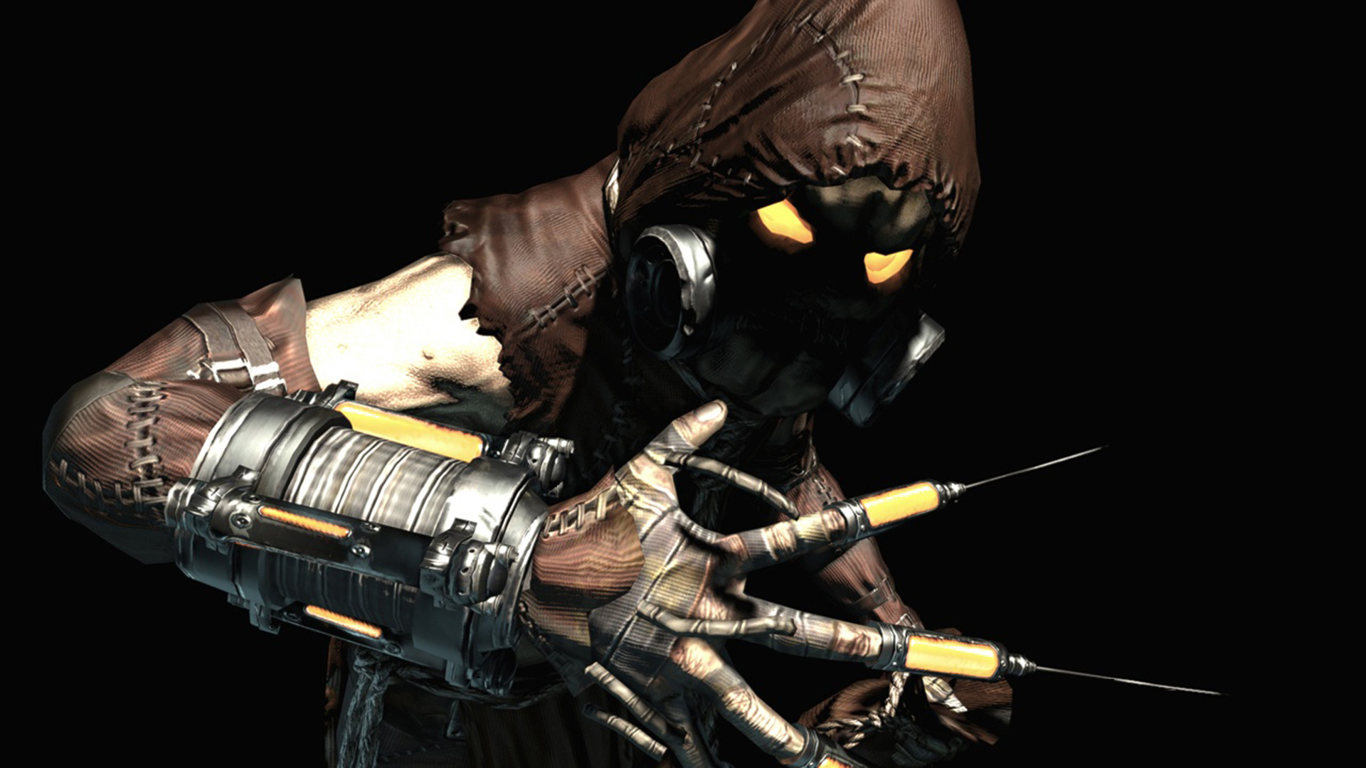 Scarecrow   Batman   Arkham Asylum Wallpaper 1584 1920x1080