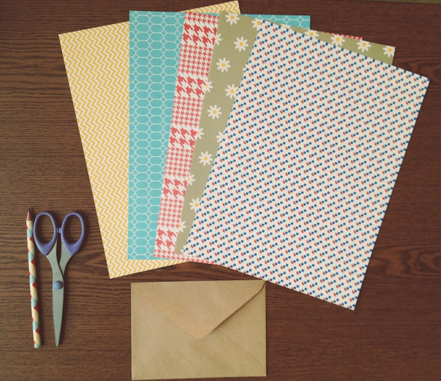 Stars in Jars DIY craft paper envelopes 640x554