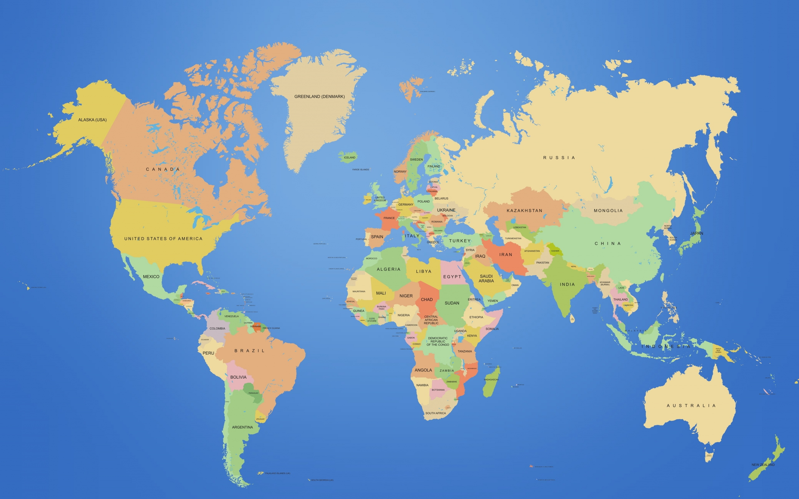 Free Download Maps Countries World Map 6500x4333 Wallpaper