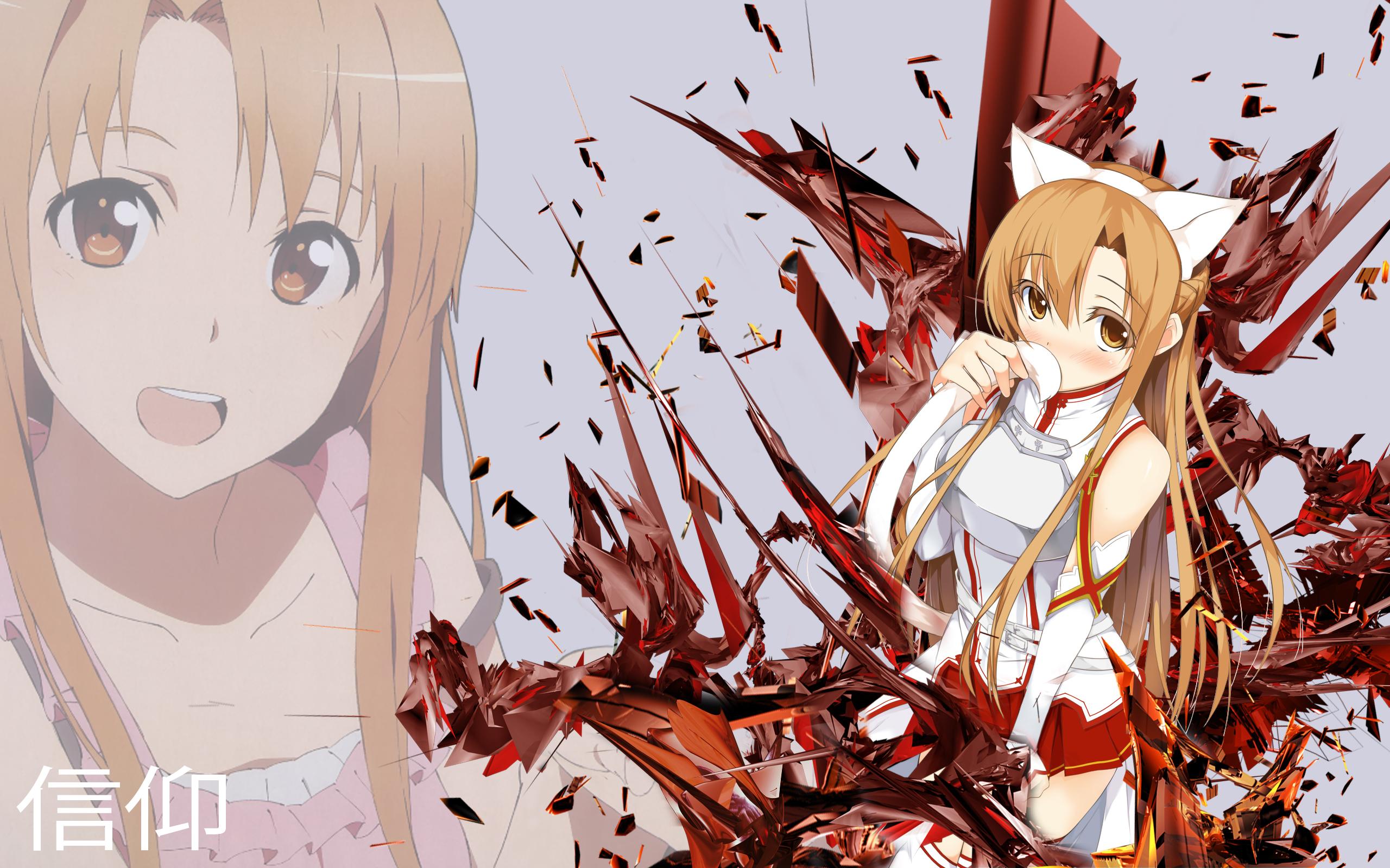 Desktop Asuna Backgrounds   WallpaperAsk 2560x1600