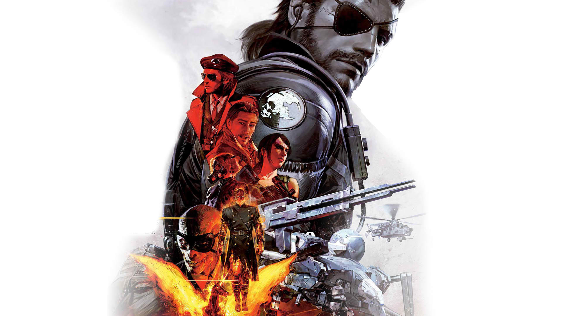 Free Download Metal Gear Solid V The Phantom Pain Wallpaper In