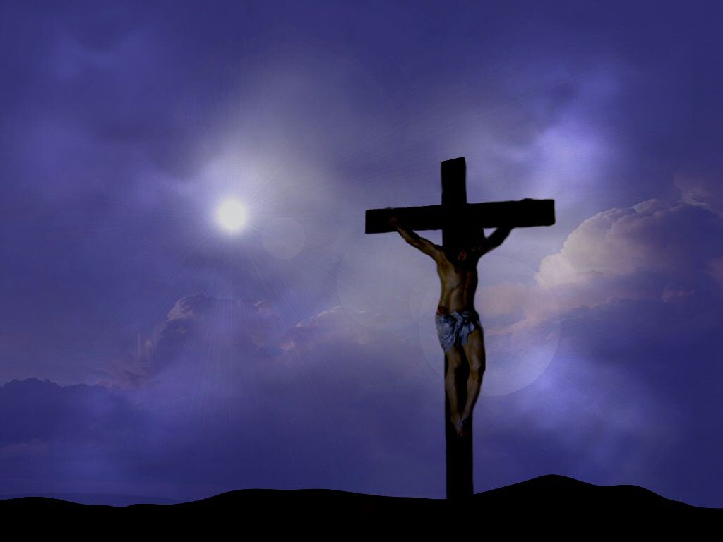 Wallpapers of Lord Jesus Christ   Christian Backgrounds   Cross 1024x768