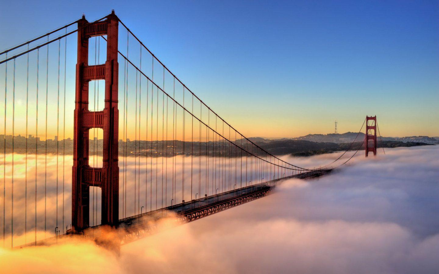 Golden Gate from San Francisco HD Wallpaper Slwallpapers 1440x900