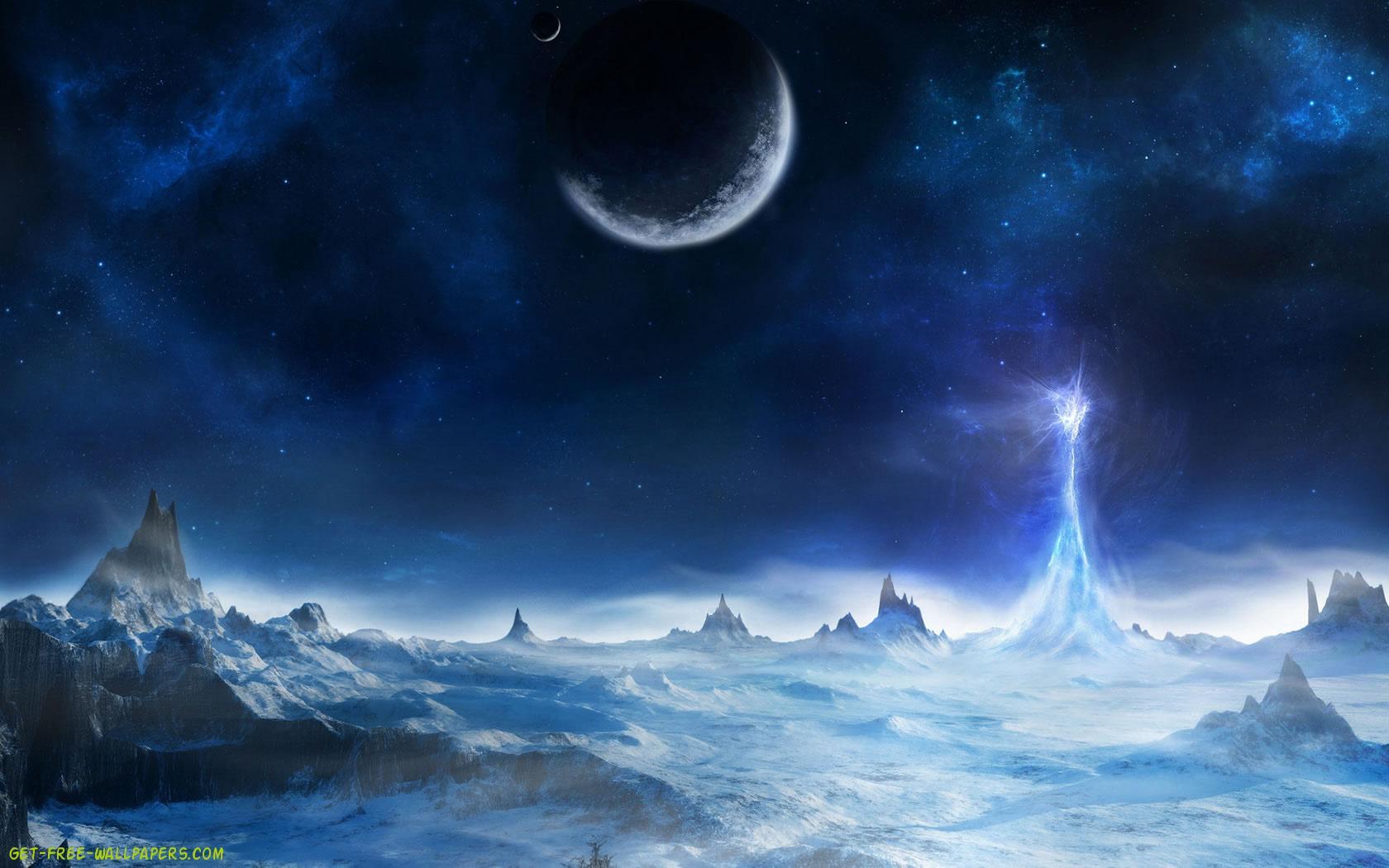 Download Blue Sky Wallpaper 1680x1050