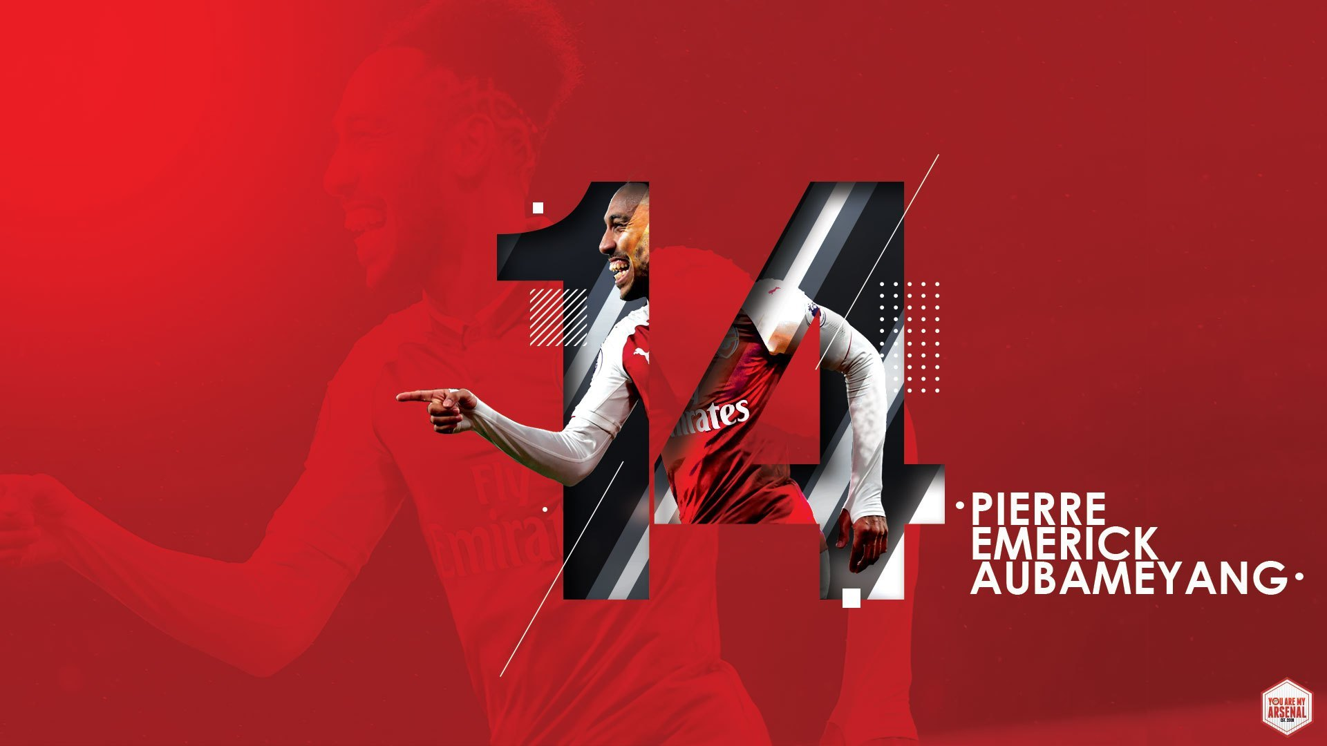 Pierre Emerick Aubameyang Wallpaper   You Are My Arsenal 1920x1080