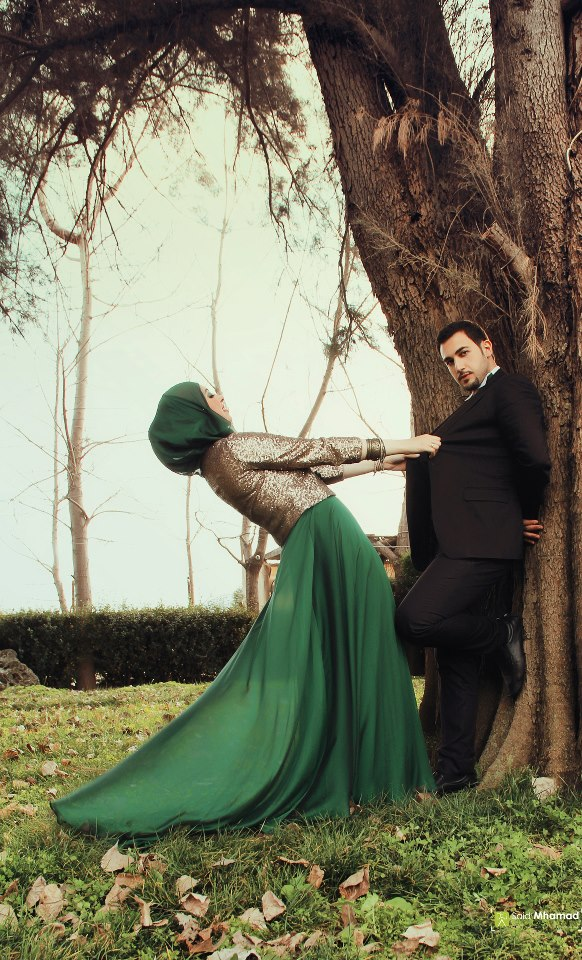 150 Most Romantic Muslim Couples Islamic Wedding Pictures 582x960