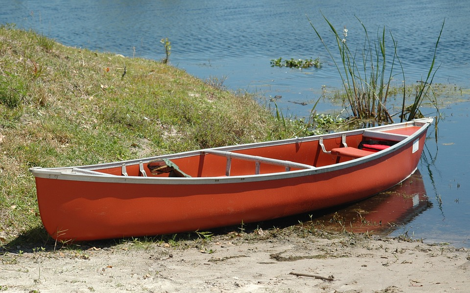 photo Adventure Lake Background Water Shore Canoe Boat   Max 960x600