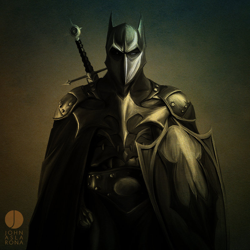 LVMENES Medieval Batman   Dark Knight Art 800x800