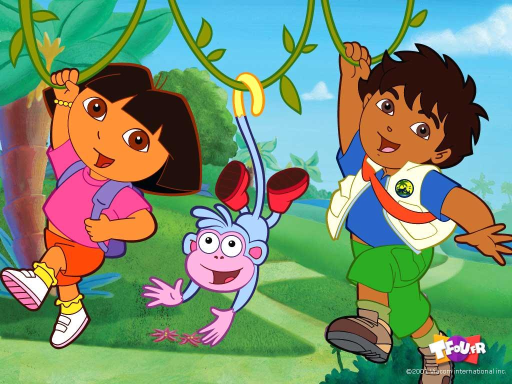 Go Diego Go Dora Wallpaper   Go Diego Go Wallpaper   Cartoon 1024x768